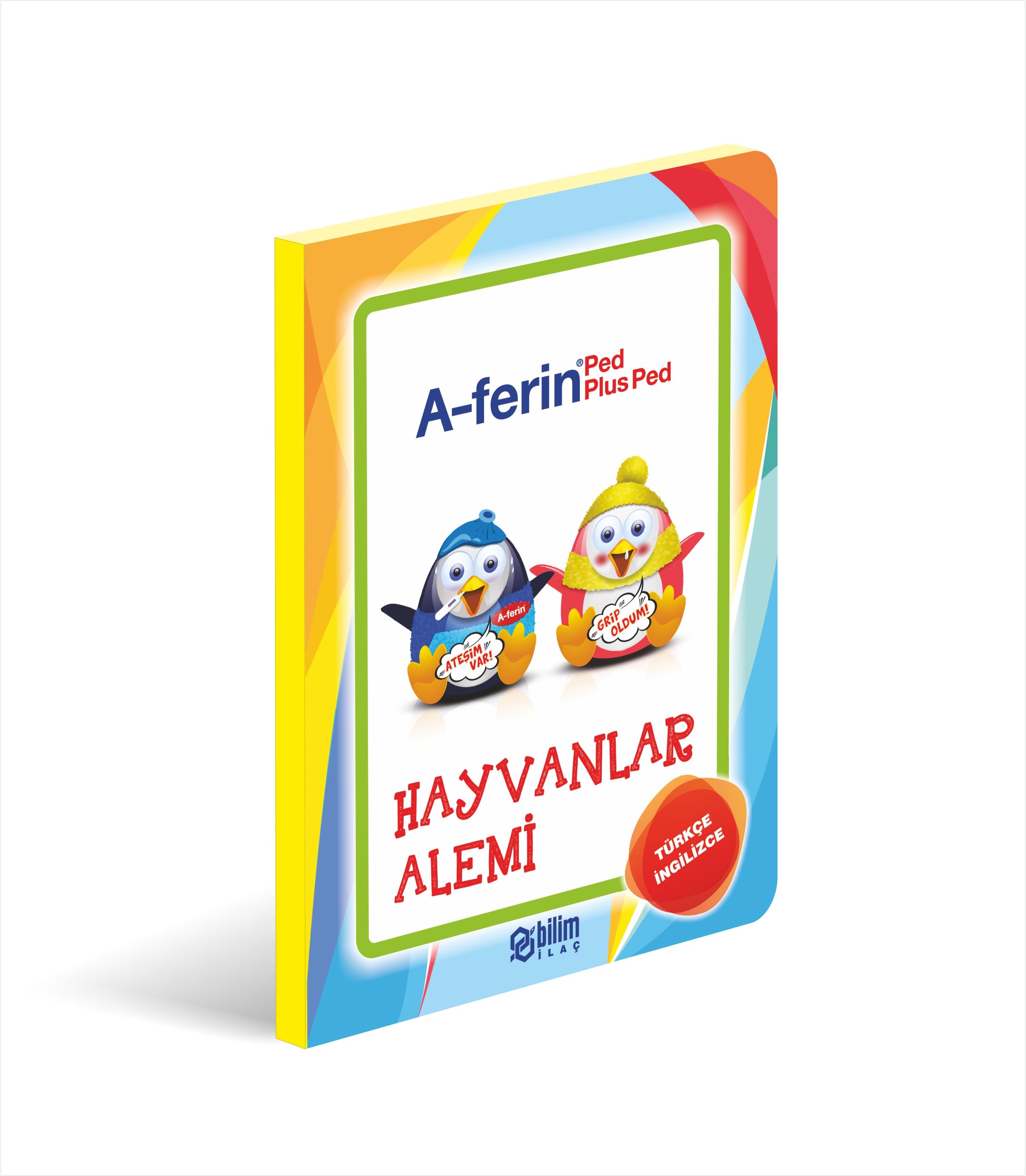 Hayvanlar alemi çocuk kitabı